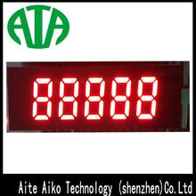 high bright 7 segment led display 5 digits