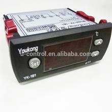 Pescados y mariscos yk-181 termostato regulador de temperatura/precio thermomter controlador de temperatura