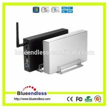 3.5 Wifi Router Ethernet Wifi Hard Drive Enclosure USB3.0 To Sata