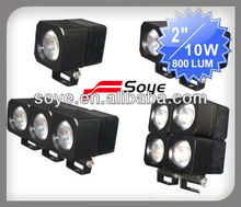 2012 NEW arrival 10w high power Cree Led chips working lamp, auto electrical lighting system, led work lamp, car accessory
