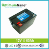 Lithium ion 12v 60Ah battery pack