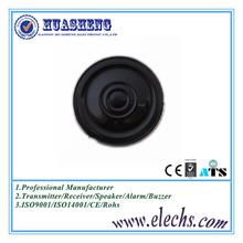 Global selling round 30mm thin mylar speaker