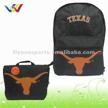 Eco-friendly Black Lightweight folding Backpack