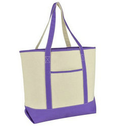 Eco friendly Natural Canvas Tote Bag/canvas shopping bag/cotton canvas tote bag