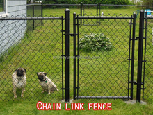 professional chain link safety fence