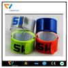 hi vis fluorescent armbands reflective slap wrap snapbands for safety