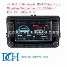 vw golf 6 car dvd system gps navigation 2002-2011 WS-6530
