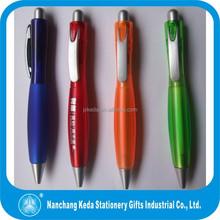2013 Promotional New Design Lagenaria siceraria click cheap fat plastic ballpoint pen