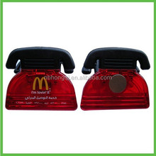Telephone shaped Plastic Promotional Magnetic Clip