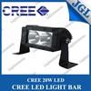 Single row led light bar truck 20w led light bar car auto parts 5JG-LGT620