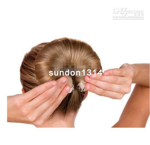 Как самой сделать заколку из волос 6