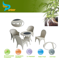Bar Sets White Rattan Coffee Furniture Outdoor Metal Table And Chairs