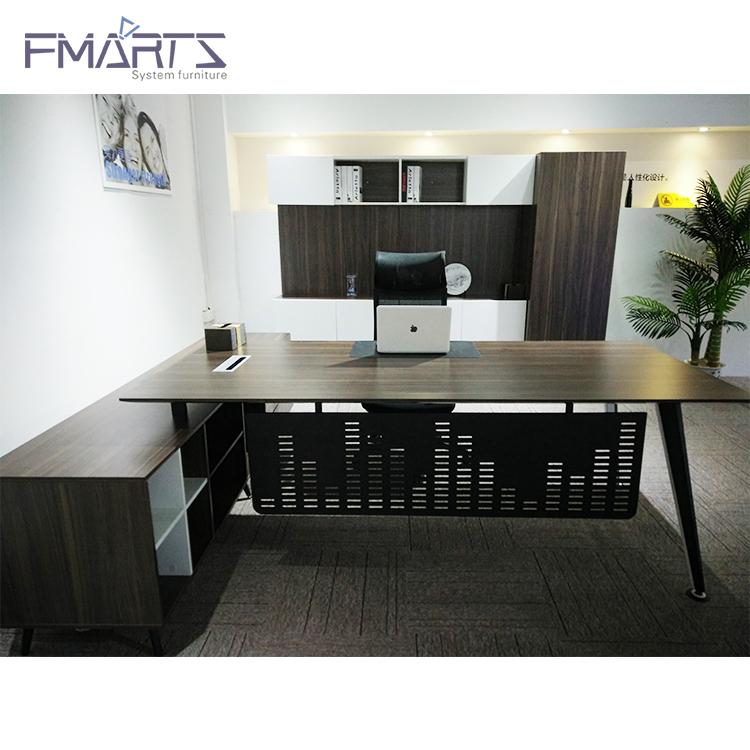 أداء موثوق الأبنوس سعر خشبية طاولة مكتب الجدول مكتب الجدول مكتب رئيسه