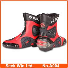 Wholesale A004 Motocross Sports boots Motorcycle Botas Men Race Motocycle shoes