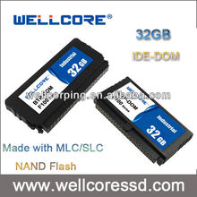 Wellcoressd 40/44pin pata ide dom 32gb ssd Flash Module for Industrial Computer & PC Terminal