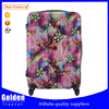New fashion ABS traveling luggage flower printed luggage bag hard and stable trolley luggage