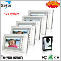 Saful TS-YP803 7-inch TFT LCD cat4 cable wired video door phone