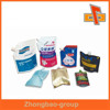 Resealable eco friendly laminated material heat sealed waterproof plastic bag with custom type spout