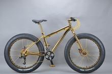 Luxurious 18K 26 inch fat bike 28 inch bmx bike