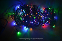 Blue color 30m 300 LED Solar String Lights Christmas Wedding Party Garden Tree Decoration Fairy lights