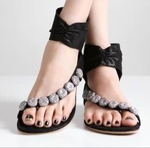 2014 Pretty Steps women ladies beach beads fashion slipper