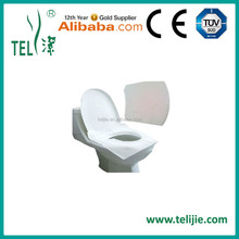 Disposable tissue paper toilet seat cover for Airplane or Travel Camping