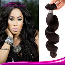 Queen angels 7A Brazilian unprocessed virgin loose deep wave hair weave