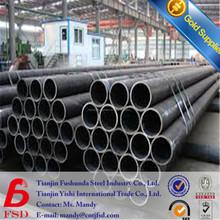 ERW calidad superior de tubos de acero negro para la venta caliente