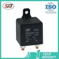Automotive Relay high power for truck starter relay 100A 200A WM686