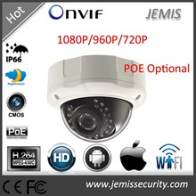 Office/Factory/Store/Airport 1080P 2.0 Megapixel 1/3 Inch COMS Network Onvif Dome IP Camera (JM-822)