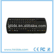 hot selling mini wireless samsung tv usb bluetooth keyboard with touch pad