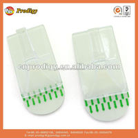 plastic clothes hanger/removable adhesive wall hook/plastic houseware product