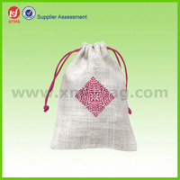 Small Wholesale Drawstring Jute Sack Bag
