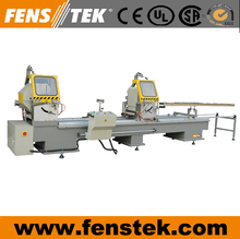 Double Head Cutting Saw CNC Window making Machine