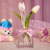 2014 popular items artificial flower liquid scent diffuser