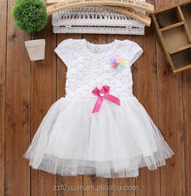 2015 new arrvials princess girl summer lovely lace shinning tutu dress