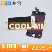 wholesale mobile phone repair parts lcd display screens for apple iphone 5 digitizer