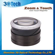 DH-86001 Zoom Touch LED hot sale magnifier home magnifier