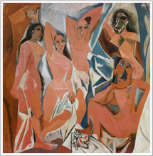 Pablo Picasso Nude Ladies abstract oil painting