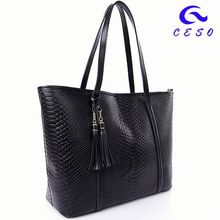 2014 Hot Design Fashionable Handbag, canvas summer handbag