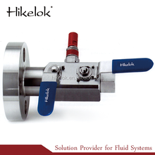 Swagelok Type High pressure and High Temperature Block and Bleed Valves Manifolds