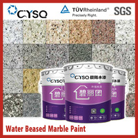 Water based green stone paint