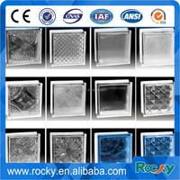 decorative garden glass wall brick