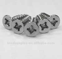 Recex Screw !!! Phillip & Square Combo Recess Carbon Steel Flat Head Self Tapping Wood Screw