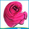 sprig summer chiffon black side scarf