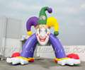 arco inflable del payaso