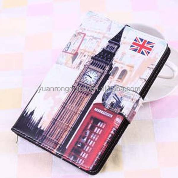 New Arrival Cartoon Tablet Cover PU Leather Case for iPad mini 2