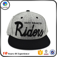 men custom embroidered snapback cap designer