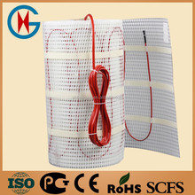 CE fast to fit heat melting cable system have sotck underfloor heating mat