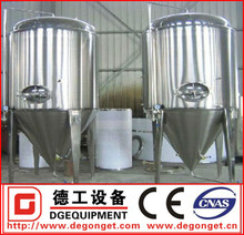 400L stainless steel fermenter for commercial brewing